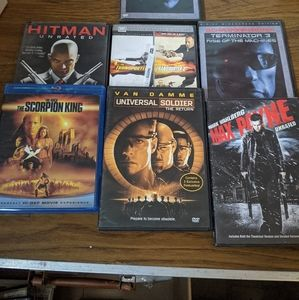 Other - Action Movie 6 DVDs
